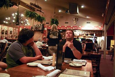 Supper at Black Barts in Flagstaff, AZ