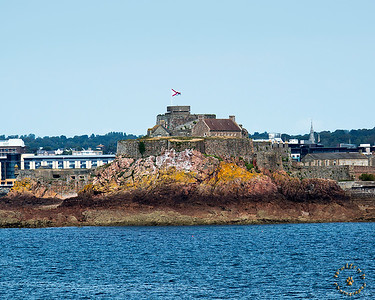 Elizabeth Castle at the Isle of Jersey.
