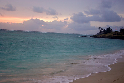 Sunrise at Kailua Beach