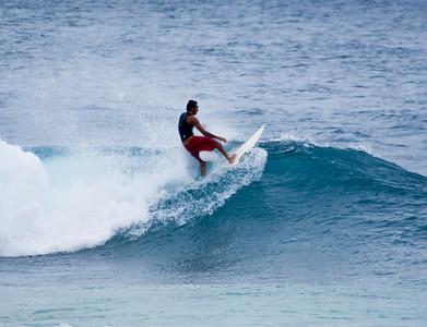 Chukai Beach Park surfers