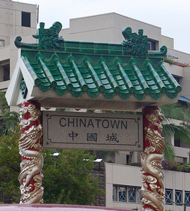 Drove through Chinatown