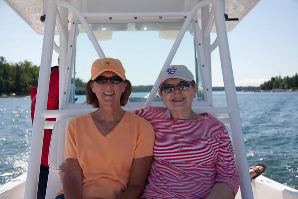 Peggy and Mary in the Les Cheneaux Islands