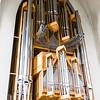 Organ inside the only interesting building in Reykjavik.