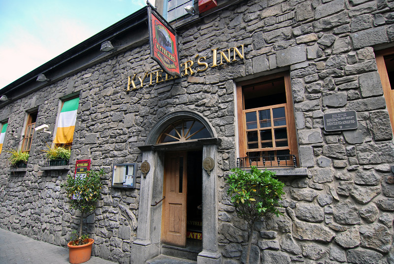 Kytler's Inn, a great place in Kilkenny for lunch and a pint...