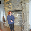 Donegal Castle in Ulster shows off with our guide.