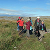 The Burren in County Clare with the aid our of our local guide