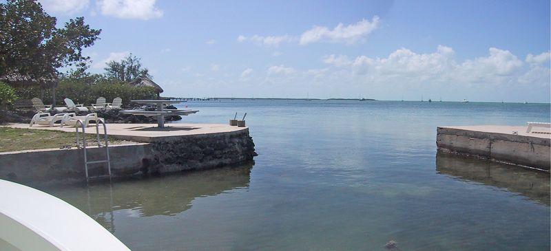 Closer look at the lagoon