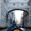 10-12-12 Heading under the Bridge of Sighs on our gondola ride