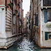 10-11-12 Off the Grand Canal little side canals head into the heart of Venice