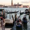 10-12-12 Final shot of gondolos and San Giorgio Maggiore