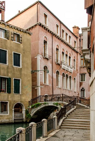 10-11-12 Venice sidewalk, bridge and canal