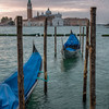 10-11-12 Gondolas and the church of San Giorgio Maggiore