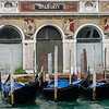 10-11-12 Close up of a palazzo with gondolas out front