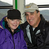 10-17-12 Kara & Steve on the ferry over to Monte Isola