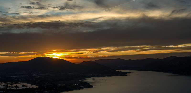 10-16-12 And a final shot from our balcony at Il due Roccoli in Iseo