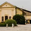 """10-18-12 Our last hotel, Hotel Villa Del Quar outside Verona. Built by the Romans, originally as  """"castrum"""" and used as a staging inn. Now a Relais & Chataux luxury hotel."""