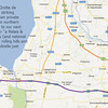 10-18-12 - Off to Villa del Quar after touring Sirmione.<br /> <br /> Google Map image.