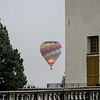 10-14-12 - Castello di Masino: hot air balloon from the lawn outside the castle