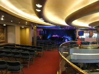 The Ocean Lounge, one of the venues for the performances.
