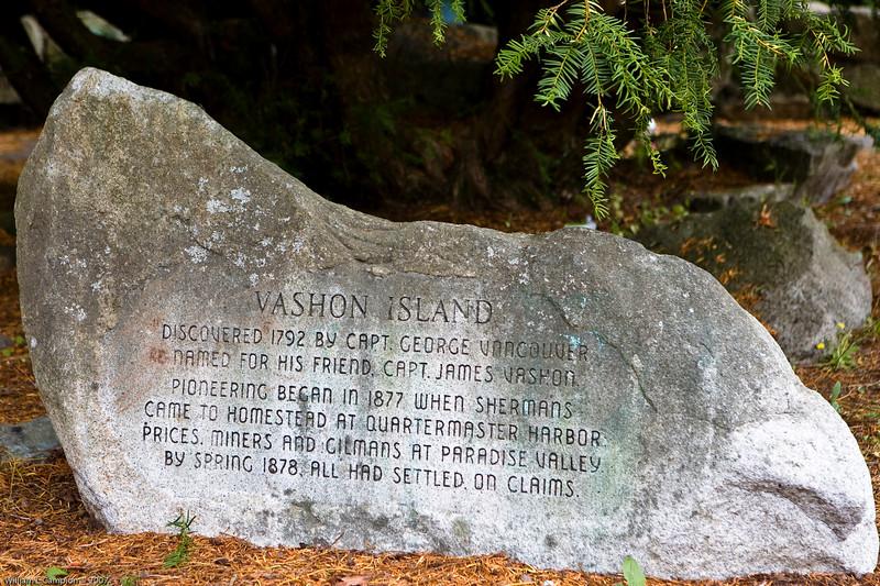 Vashon Land mark