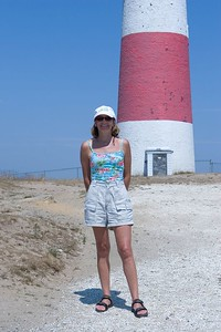 Melinda at Sankaty Light House