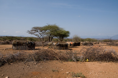 Samburu village