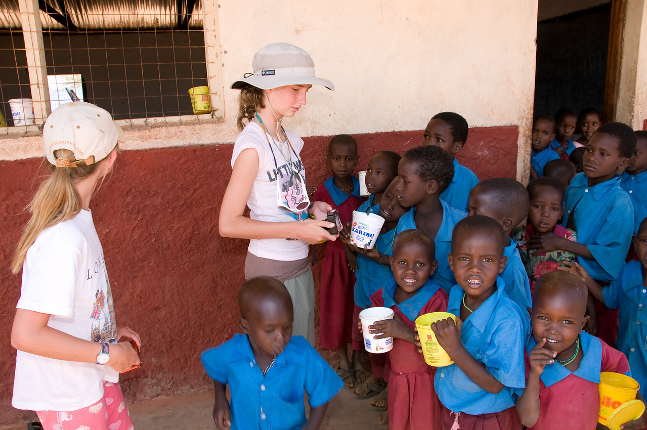 Samburu school...70 children and 2 teachers