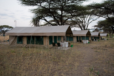 Tent camp at Shaba National Reserve