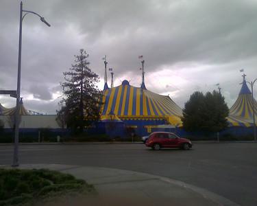 Side of the Kooza compound