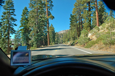 Heading up to Lake Mary outside of Mammoth Lakes, CA.
