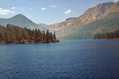 Just outside of Emerald Bay in Lake Tahoe.