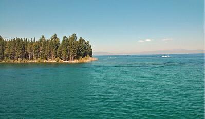 Entering Emerald Bay.