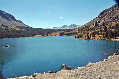 Eagle Lake along Tioga Pass east of Yosemite Park.