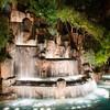 Waterfall outside Venetian.