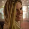 Emily at pre-dinner drinks.
