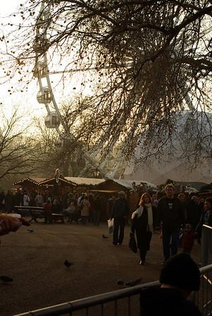Christmas festival in hyde park