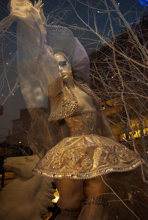 One of the windows at Harrods for CHristmas
