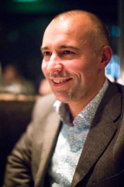 Matt at Gaucho Sloane in Kensington.