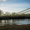 Hammersmith Bridge.