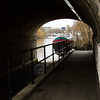 Under the arches at Kew Bridge.