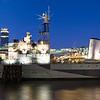 Panorama of HMS Belfast, 9Kx3K.