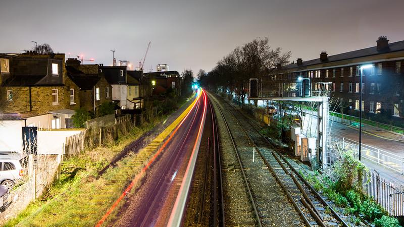 Train tracks in Chiswick