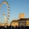 London Eye and County Hall.
