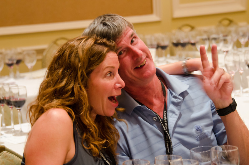 6-10-11 - Kapalua Wine and Food Festival - feeiling fine after the 1st tasting