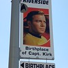 Future Birthplace of Captain James T. Kirk - Riverside, Iowa