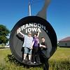 Iowa's Largest Fryin' Pan - Brandon, Iowa