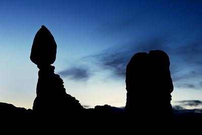 Balanced Rock before Dawn