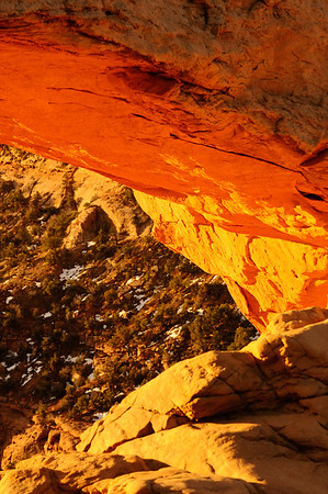 Mesa Arch Detail
