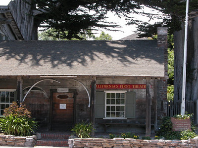 California's first theater