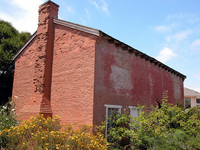 The first brick house in California